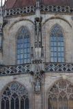 статуи и детали церков Стоковая Фотография