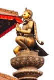 Статуи и украшения в квадрате Patan Durbar, Непале Стоковое фото RF