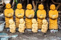 Статуи монаха Стоковое Изображение RF