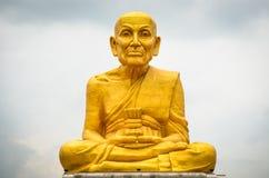 Статуи монахов Стоковые Изображения RF
