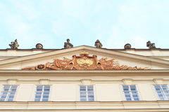 Статуи на крыше Стоковые Фотографии RF