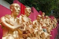Статуи на 10 тысяч Buddhas Стоковое фото RF