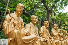 Статуи на 10 тысяч Buddhas Стоковое Изображение RF