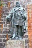 Статуи на Burg Hohenzollern замка Hohenzollern Стоковые Изображения