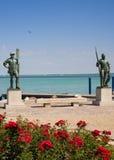 статуи озера balaton Стоковое Изображение