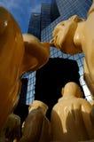 Статуи основателей Монреаля стоковые изображения rf