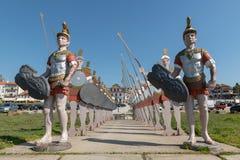 Статуи римских солдат Стоковое Изображение