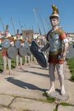 Статуи римских солдат Стоковая Фотография