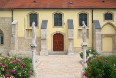 Статуи Святого Kinga Польши и Святого Hedwig Силезии Стоковые Изображения