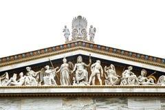 Статуи старых 12 богов Стоковое Изображение