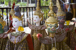 статуи тайские Стоковое Изображение