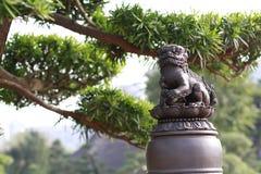 Статуи льва Стоковые Фотографии RF