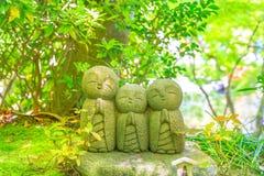 Статуи Jizo Стоковые Фото