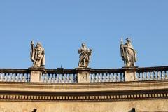 статуи vatican стоковые фото