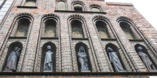 5 статуй Стоковое Фото