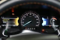 Статусная строка показывая ` s автомобиля управляя инструментами Стоковая Фотография