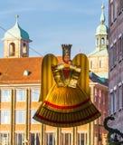 Статуэтка ангела Christkind - символ Нюрнберг-Германия рождества Стоковое Изображение RF