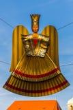 Статуэтка ангела Christkind - символ Нюрнберг-Германия рождества Стоковые Изображения RF