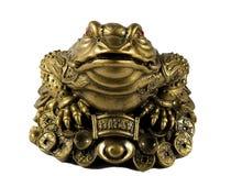 статуэтка лягушки Стоковые Фото