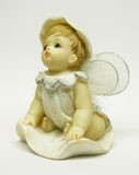 Статуэтка меньший ангел Стоковые Изображения RF