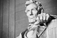 статуя Абраюам Линчолн стоковая фотография rf