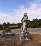 статуя ангела моля Стоковые Фотографии RF