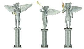 статуя ангела Иллюстрация штока