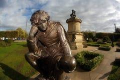 Статуя Англии Стратфорд-На-Эвон Гамлет стоковое фото rf