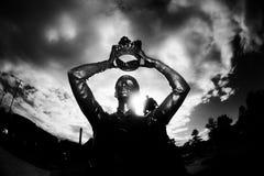 Статуя Англии Стратфорд-На-Эвон стоковое фото rf