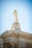 Статуя Анджела в кладбище Нового Орлеана Стоковые Изображения RF