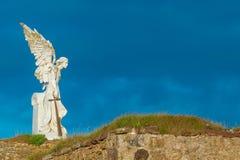 Статуя Анджела Стоковое Изображение