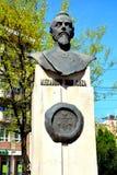 Статуя Александра Ioan Cuza стоковая фотография rf