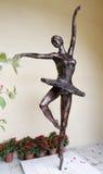 Статуя балерины Стоковые Фото