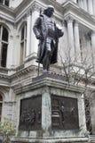 Статуя Бенджамина Франклина - Бостон, Массачусетс, США стоковое фото