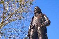 Статуя Бенджамина Франклина Стоковые Фото