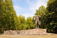 Статуя белорусского писателя Janka Kupala Стоковое Изображение RF