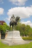 Статуя бельгийского короля Leopold II Стоковое фото RF