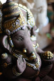 Статуя бога Ganesh индусская Стоковое Изображение RF