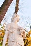 Статуя богини Немезиды стоковая фотография rf