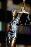 Статуя богини Themis Стоковые Фотографии RF