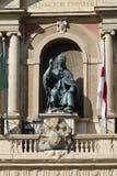 Статуя болонья Папы Грегори XIII стоковые фотографии rf