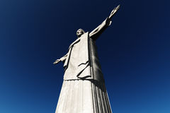 статуя Бразилии corcovado de janeiro jesus mo rio Стоковые Фотографии RF