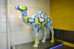 Статуя бренда верблюда Стоковая Фотография RF