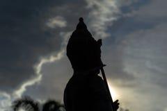 Статуя бронзы Vishnu Стоковое Фото