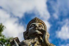 Статуя бронзы Vishnu Стоковое Изображение