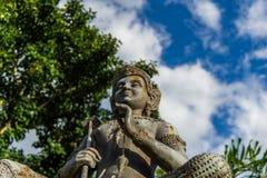 Статуя бронзы Vishnu Стоковая Фотография RF