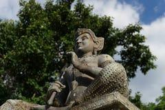 Статуя бронзы Vishnu Стоковое Изображение RF