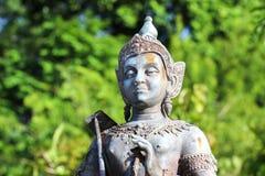 Статуя бронзы Vishnu Стоковое фото RF