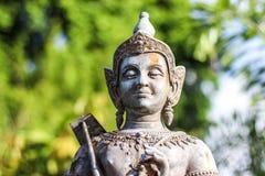 Статуя бронзы Vishnu Стоковая Фотография
