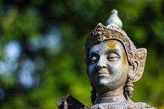 Статуя бронзы Vishnu Стоковые Фото